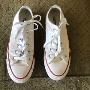 Preloved but good condition CONVERSE WHITE ALLSTAR